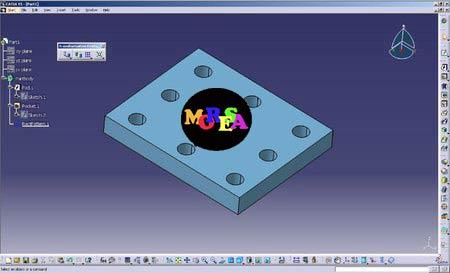 3D design کاملترین مرجع آموزشی نرم افزار طراحی و مهندسی CATIA