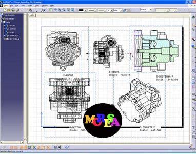 Design of applicable drawing کاملترین مرجع آموزشی نرم افزار طراحی و مهندسی CATIA